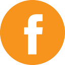 orange facebook logo