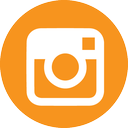 orange instagram logo