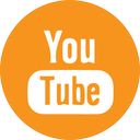 orange youtube logo